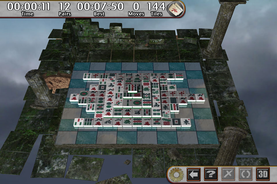 Screenshot Mahjong Prime 3D